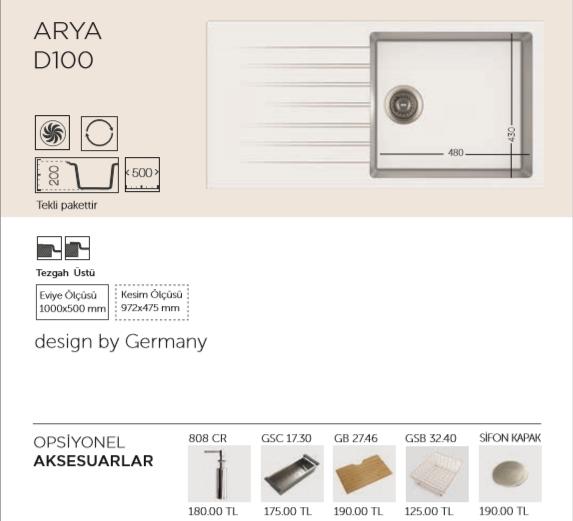 ARYA-D100