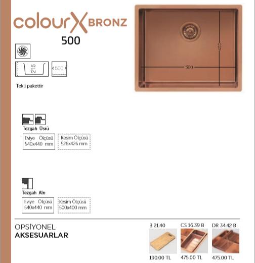 Colour-X-Bronz-500