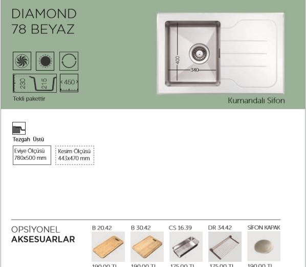 DIAMOND-78-BEYAZ