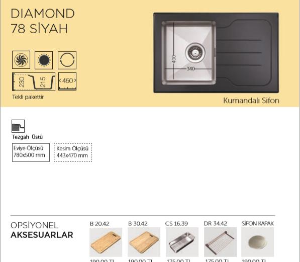 DIAMOND-78-SİYAH