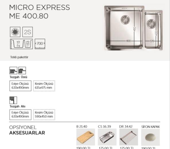 MICRO-EXPRESS-ME-400-80