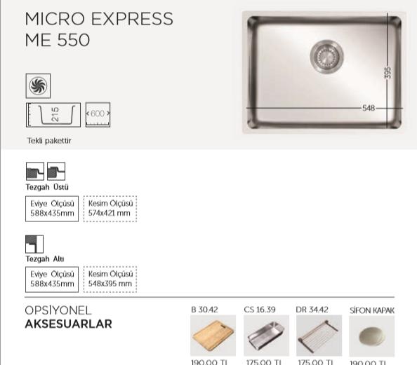 MICRO-EXPRESS-ME-550