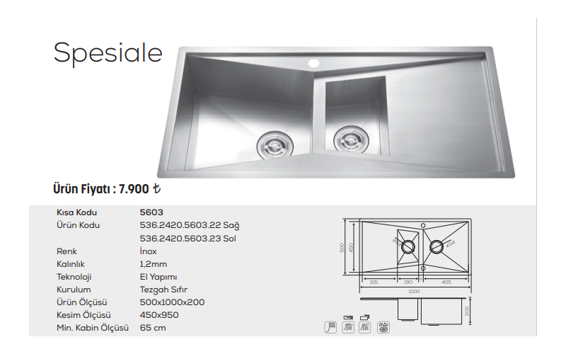 Spesiale-5603-İnox