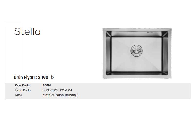 Stella-6054-Mat-Gri-Nano-Teknoloji