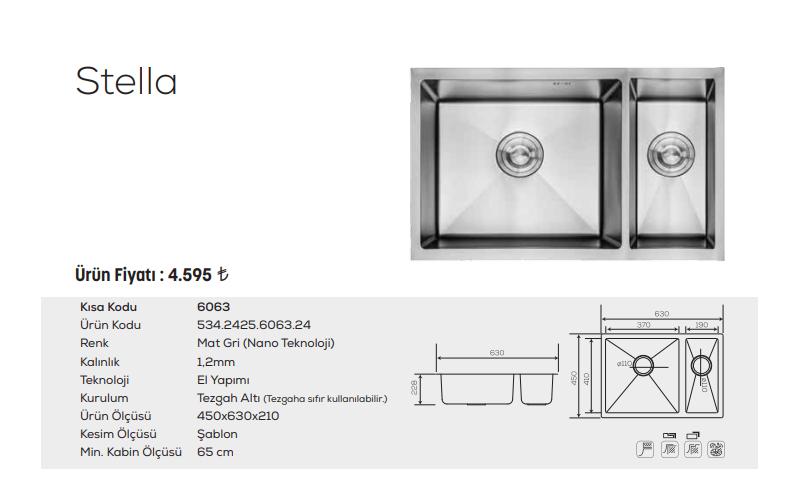 Stella-6063-Mat-Gri-Nano-Teknoloji